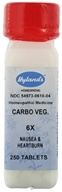 Hylands - Carbo Vegetabilis 6 X - 250 Tablets CLEARANCE PRICED