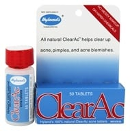 Hylands - Clear-Ac Tablets - 50 Tablets, from category: Homeopathy