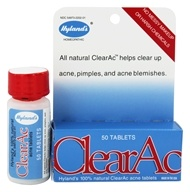 Hylands - Clear-Ac Tablets - 50 Tablets by Hylands