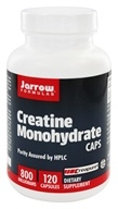 Image of Jarrow Formulas - Creatine Caps 800 mg. - 120 Capsules