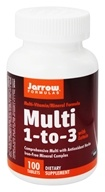 Jarrow Formulas - Multi 1-3 Multivitamin & Mineral Formula - 100 Tablets, from category: Vitamins & Minerals