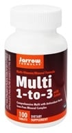 Image of Jarrow Formulas - Multi 1-3 Multivitamin & Mineral Formula - 100 Tablets