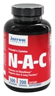 Jarrow Formulas - N-A-C 500 mg. - 200 Capsules, from category: Nutritional Supplements