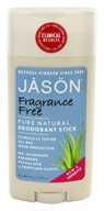 Jason Natural Products - Deodorant Stick Fragrance Free - 2.5 oz. - $5.20