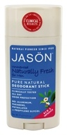 Image of Jason Natural Products - Deodorant Stick For Men Naturally Fresh - 2.5 oz.