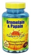 Nature's Life - Bromelain & Papain - 100 Vegetarian Capsules, from category: Nutritional Supplements