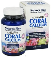 Nature's Plus - Activated Coral Calcium - 90 Vegetarian Capsules, from category: Vitamins & Minerals