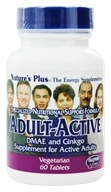 Image of Nature's Plus - Adult-Active Vegetarian Formula - 60 Tablets