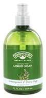 Nature's Gate - Liquid Soap Organics Herbal Blend Lemongrass & Clary Sage - 12 oz. (078347750162)