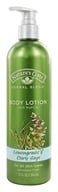 Nature's Gate - Body Lotion Organics with NaPCA Lemongrass & Clary Sage - 12 oz.