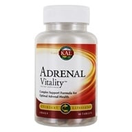 Kal - Adrenal Vitality - 60 Tablets by Kal