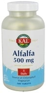 Kal - Alfalfa 500 mg. - 500 Tablets, from category: Herbs