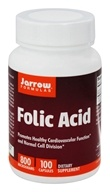 Jarrow Formulas - Folic Acid 800 mcg. - 100 Capsules, from category: Vitamins & Minerals