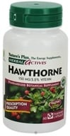 Nature's Plus - Herbal Actives English Hawthorne 150 mg. - 60 Vegetarian Capsules - $7.73
