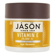 Jason Natural Products - Vitamin E Cream 25000 IU - 4 oz. - $9.28