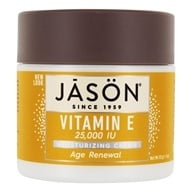 Jason Natural Products - Vitamin E Cream 25000 IU - 4 oz. by Jason Natural Products