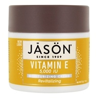 Jason Natural Products - Vitamin E Revitalizing/Moisturizing Creme 5000 IU - 4 oz. - $5.99