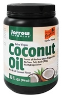 Jarrow Formulas - Extra Virgin Organic Coconut Oil - 32 oz. by Jarrow Formulas