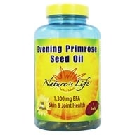 Image of Nature's Life - Evening Primrose Seed Oil 1300 mg. - 100 Softgels