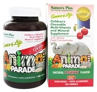Animal Parade Children's Chewable Multi Cherry - 180 Chewable Tablets