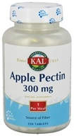 Kal - Apple Pectin 300 mg. - 250 Tablets by Kal