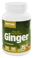 Image of Jarrow Formulas - Ginger 500 mg. - 100 Capsules