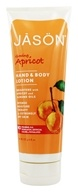 Image of Jason Natural Products - Hand & Body Lotion Apricot - 8 oz.