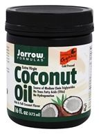 Jarrow Formulas - Extra Virgin Organic Coconut Oil - 16 oz. (790011160335)