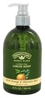 Nature's Gate - Liquid Soap Organics Herbal Blend Neroli Orange & Chocolate Mint - 12 oz. (078347750179)