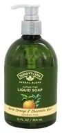 Image of Nature's Gate - Liquid Soap Organics Herbal Blend Neroli Orange & Chocolate Mint - 12 oz.