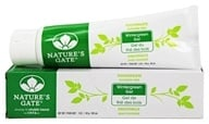 Image of Nature's Gate - Natural Toothpaste Flouride Free Wintergreen Gel - 5 oz.