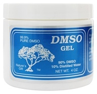 Nature's Gift DMSO - 90%/10% Distilled Water Gel - 4 oz. (606746211405)