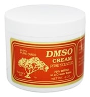 Nature's Gift DMSO - Cream Rose Scented - 4 oz. by Nature's Gift DMSO