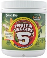 Nature's Plus - Animal Parade Fruit & Veggies 5 Children's Nutritional Shake - 0.57 lbs., from category: Nutritional Supplements