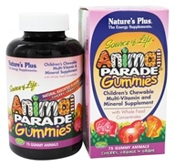 Nature's Plus - Animal Parade Gummies Assorted - 75 Gummies - $22.65