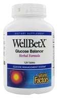 Natural Factors - WellBetX Glucose Balance Herbal Formula - 120 Tablets