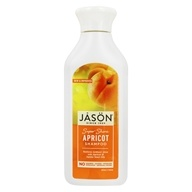 Image of Jason Natural Products - Natural Apricot Shampoo Super Shine - 16 oz.
