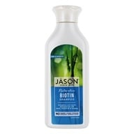 JASON Natural Products - Natural Biotin Shampoo Hair Fortifying - 16 oz.