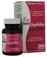 Jarrow Formulas - Fem-Dophilus - 30 Capsules, from category: Nutritional Supplements