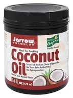 Image of Jarrow Formulas - Organic Coconut Oil - 16 oz.