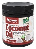 Jarrow Formulas - Organic Coconut Oil - 16 oz.