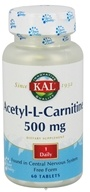 Image of Kal - Acetyl-L-Carnitine - 60 Tablets