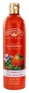 Nature's Gate - Shampoo Organics Fruit Blend Color Protecting Persimmon & Rose Geranium - 12 oz. by Nature's Gate