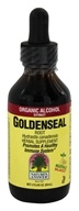 Nature's Answer - Goldenseal Root Organic Alcohol - 2 oz.