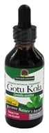 Nature's Answer - Gotu Kola Herb Organic Alcohol - 2 oz.
