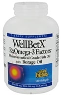 Image of Natural Factors - WellBetX RxOmega-3 Factors with Borage Oil - 120 Softgels