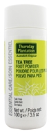 Thursday Plantation - Tea Tree Foot Powder - 3.5 oz.