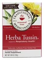 Traditional Medicinals - Herba Tussin Tea - Herbal Cough Tea - 16 Bags (032917000507)