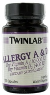 Image of Twinlab - Allergy A & D3 - 100 Capsules