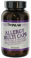 Twinlab - Allergy Multi Caps - 200 Capsules, from category: Vitamins & Minerals